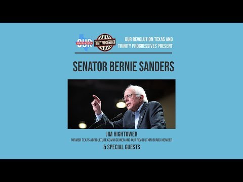 A Night In San Antonio With Bernie Sanders