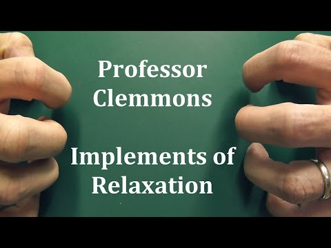 Professor Clemmons - Implements of...
