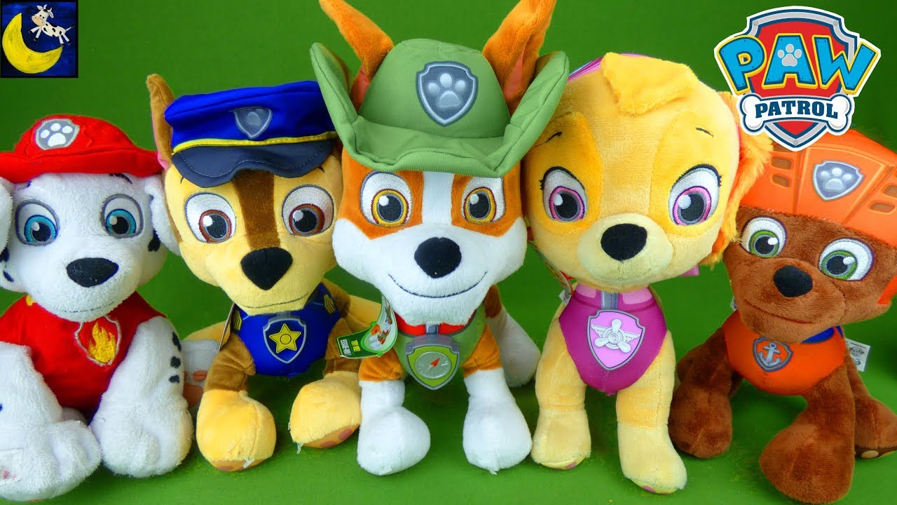 Paw Patrol Toys Deluxe Lights And Sounds Chase Talking Tracker Skye