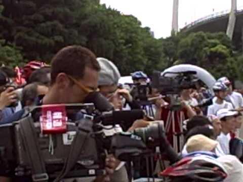 COP15サイクリングツアー ステージイベント