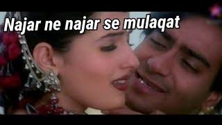 Nazar ne Nazar se Mulaqat kar li(chori chori song) heart touching song