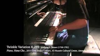 2015 Love Jordan Concert Piano Solo (Hana Chu)