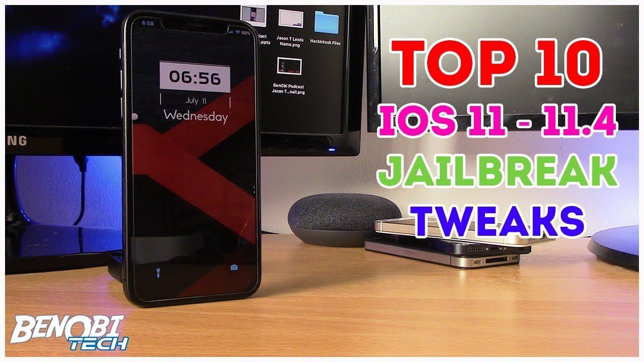 TOP 10 BEST Tweaks For iOS 11-11 4 Electra Jailbreak
