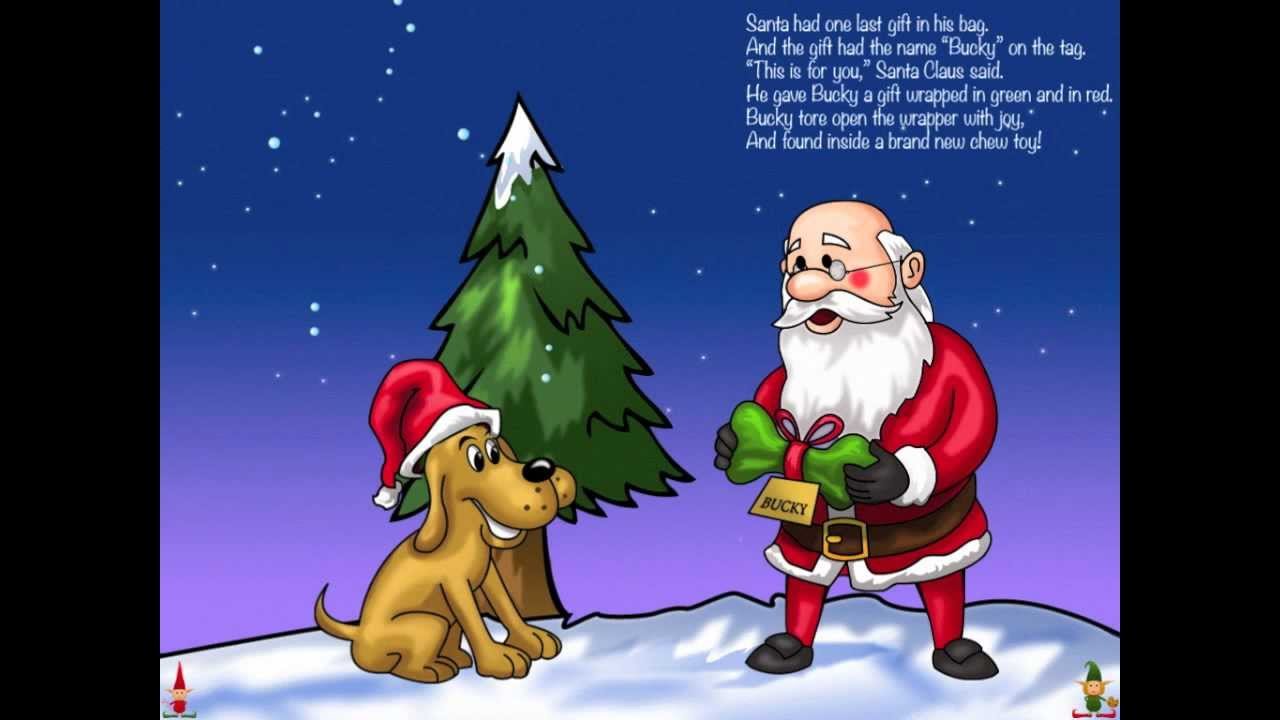 Uncategorized Christmas Story For Children children interactive book for ipad santas little helper christmas story youtube