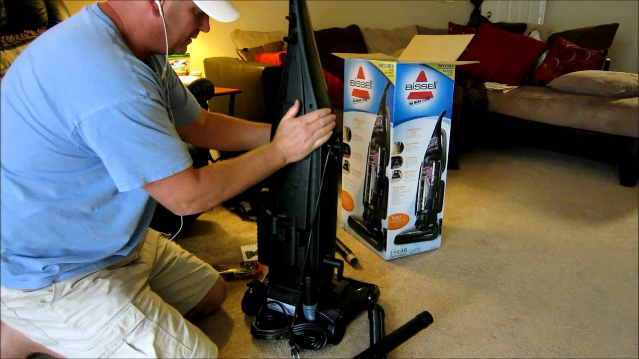 Bissell Cleanview Helix Deluxe Vacuum Cleaner Review Youtube
