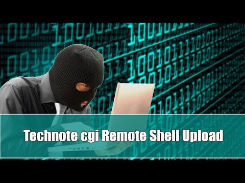Technote cgi Remote Shell Upload