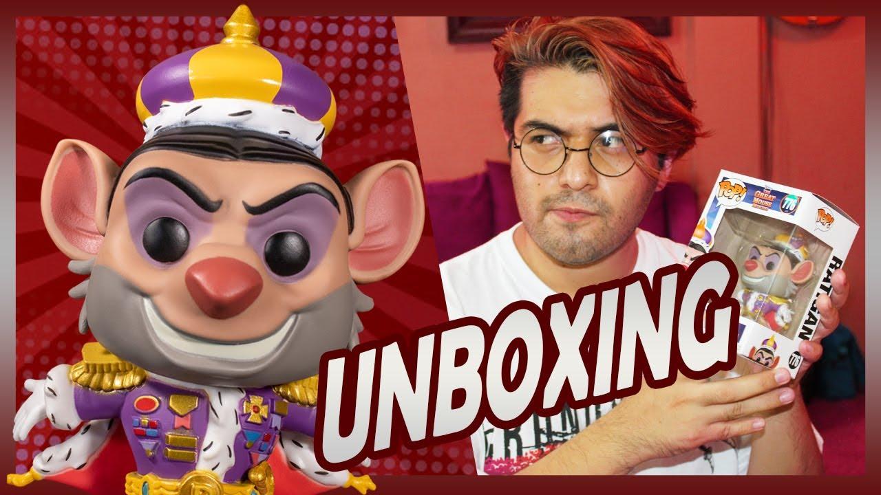 UNBOXING RATIGAN | Funko Pop Disney 🐀👑