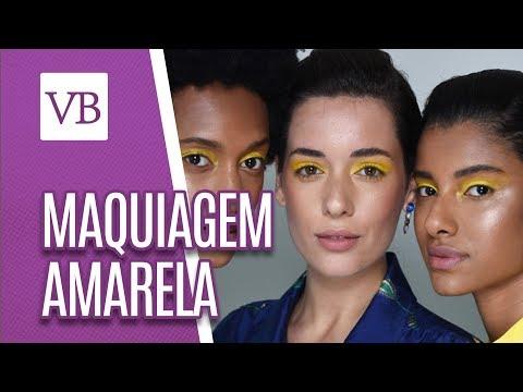 Especial Maquiagem Amarela - Você Bonita (28/06/18)