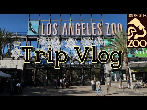 Los Angeles Zoo Vlog (8 January 2017) Part 1 of 3