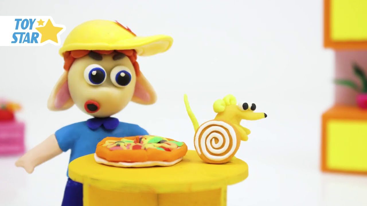 Princesa Dolly Cartoon Play Doh Stop Motion for kids #73