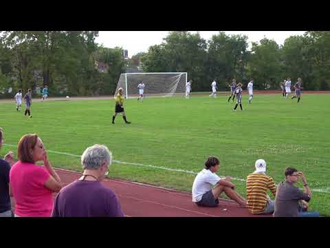 Amherst 2017 Boys Soccer vs Mt Greylock, 1st half; September 18, 2017.