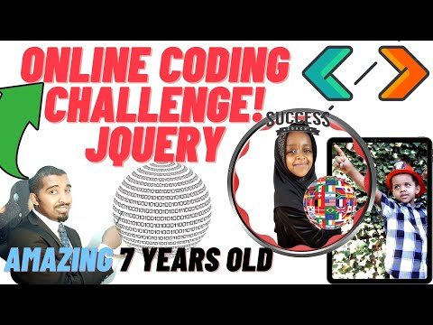 New Online Coding Challenge Tutorial JavaScript JQuery HTML5 CSS Creating Creature DOM Manipulation