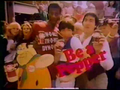 Dr.Pepper commercial with Jimmy Walker and Fred Flintstone from The Flintstones