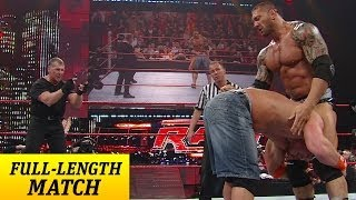 John Cena competes against Mr. McMahon and a barrage of Superstars in a Gauntlet Match