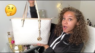 What's In My New MK Bag??😍