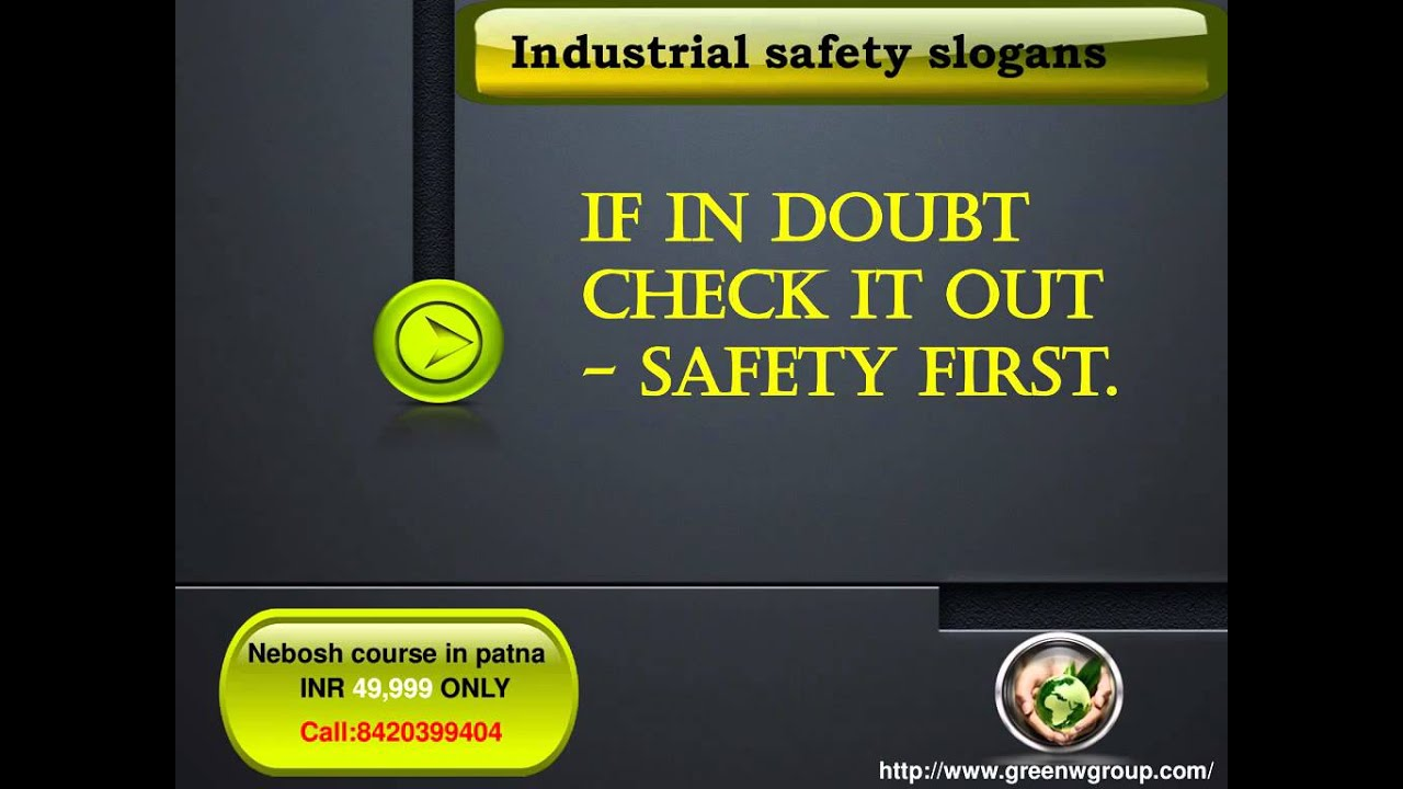 Nebosh Course In Chennai Green World Group Youtube