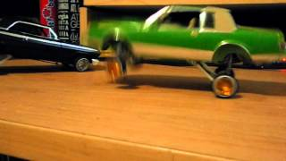 1987 buick regal lowrider hopper model on hydraulics....{servos and johnson motor}