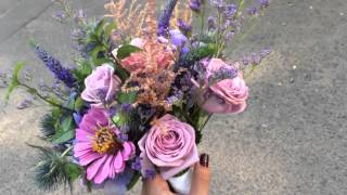 Фиолетовый свадебный букет. Заказать букет невесты в Минске. Букет невесты. Все Невесты СЮДА