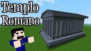 Tutoriais Minecraft: Como Construir um Templo Romano