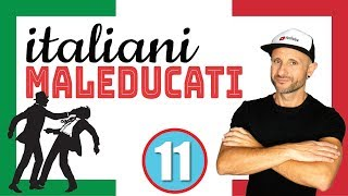ARE ITALIANS RUDE? - Italian Listening & Comprehension Practice  [Video in slow Italian]