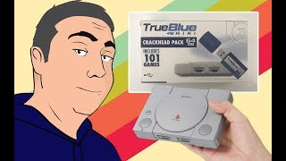 I Bought 2 True Blue Mini Hack Sticks for the Playstation Classic! 202 Extra Games??