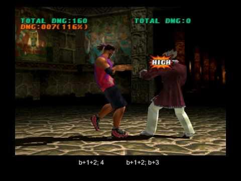 TEKKEN 3 Eddy - secret moves, rare custom combos | Tekken