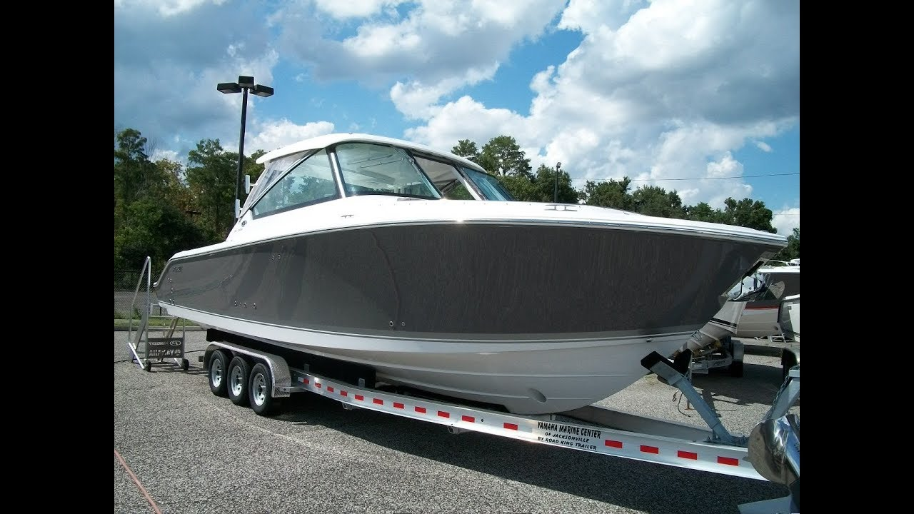 2019 New Pursuit Dual Console 325 Offshore Cruising Fishing Boat For Sale Jacksonville Florida