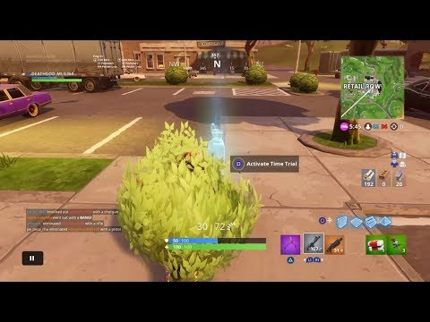 FORTNITE ALL The Time Trial LOCATIONS