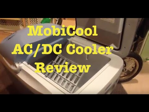 mobicool ac dc 12 volt cooler review youtube. Black Bedroom Furniture Sets. Home Design Ideas