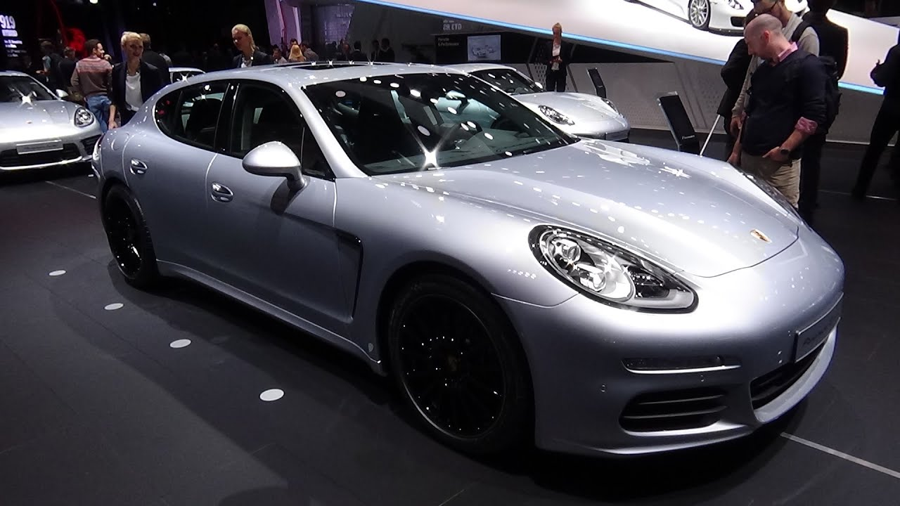 2016 porsche panamera edition exterior and interior iaa frankfurt 2015 youtube
