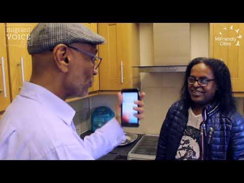 MiFriendly Cities Media Lab | Hussieni Saeed interviews Hagos Abraham in Birmingham