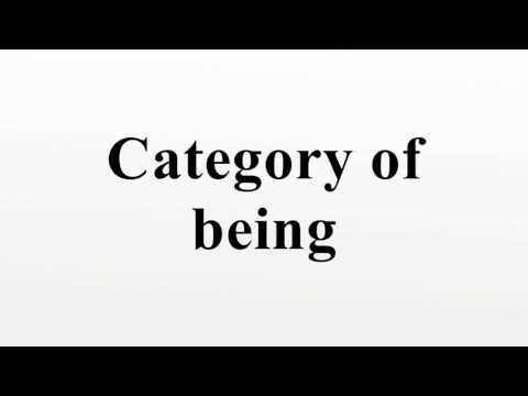 Category of being