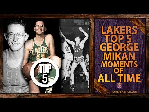 Lakers Nation Best Of: George Mikan's Top 5 Lakers Moments