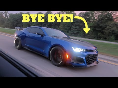 Cocky  ZL1 1LE Camaro Gets DESTROYED By A Hellcat LOLL!