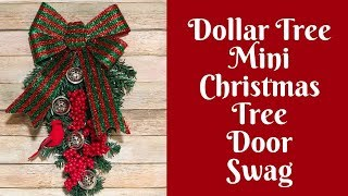 dollar-tree-christmas-crafts-dollar-tree-mini-christmas-tree-door-swag