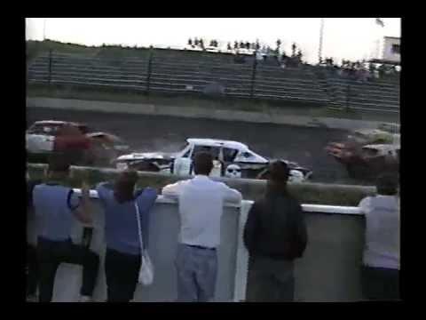 Demo At Winnipeg Speedway 1990