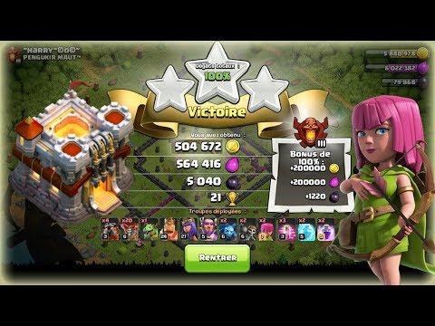 Clash of Clans - LA MEILLEURE COMPO HDV11 POUR FARM !!!