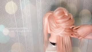 ⭐ВЕЧЕРНЯЯ/СВАДЕБНАЯ Прическа БЕЗ Плойки⭐Греческая Коса⭐Обучение Прическам⭐New Bridal Hairstyle