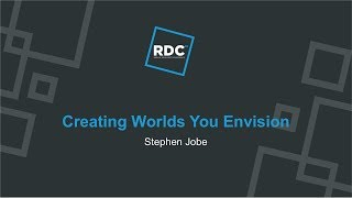 Roblox Developer Conference 2018 - Creating Worlds You Envision