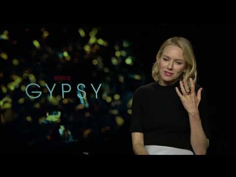 Naomi Watts  GYPSY  about kissing Sophie Cookson NETFLIX