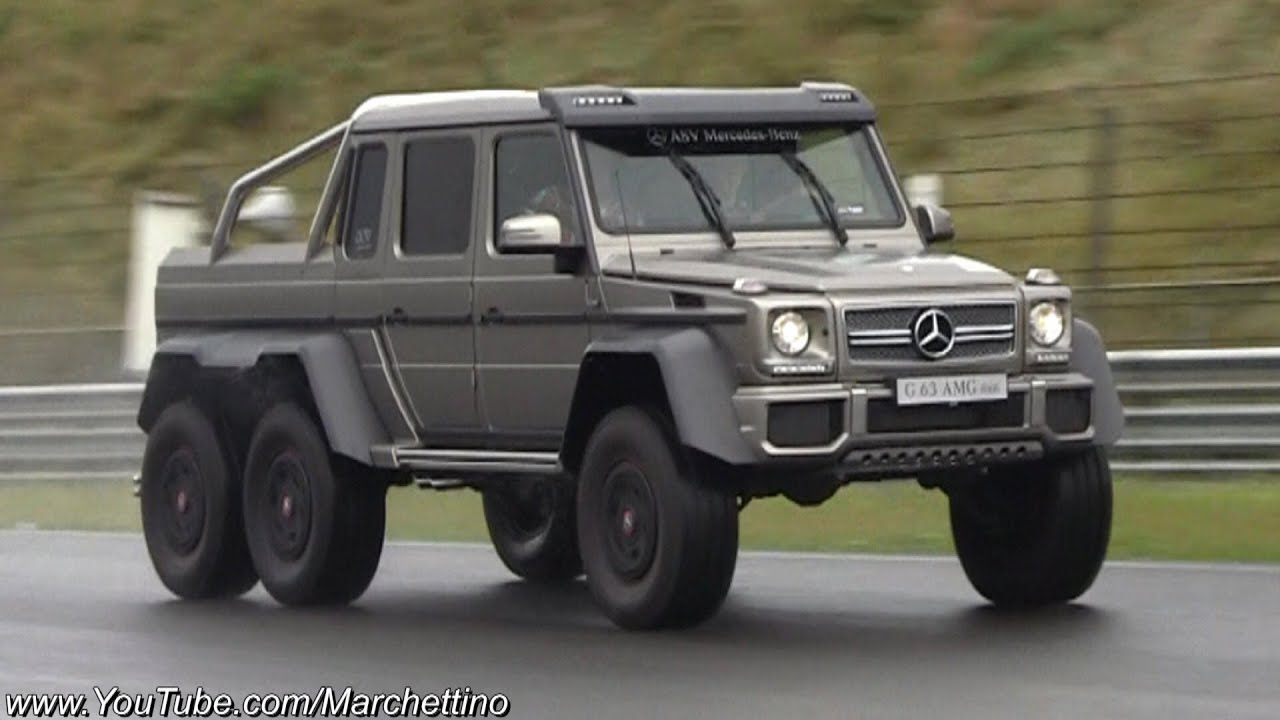 mercedes g63 amg 6x6 races supercars on track youtube. Black Bedroom Furniture Sets. Home Design Ideas