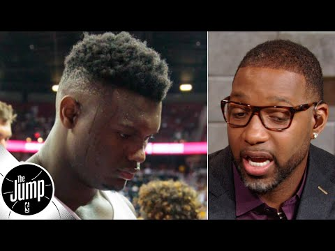 Zion Williamson wasn't out of shape, he's just too big - Tracy McGrady | The Jump