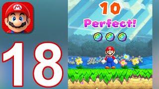 Super Mario Run - Gameplay Walkthrough Part 18 - Remix 10 (iOS)