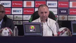 Algérie - Belmadi :