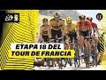 Tour de Francia: Richard Carapaz, líder de la montaña y Supermán' López sigue tercero en la general
