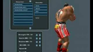 Heavyweight Thunder  Parsan karakteri