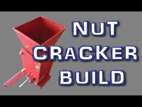 pecan nut cracking machine