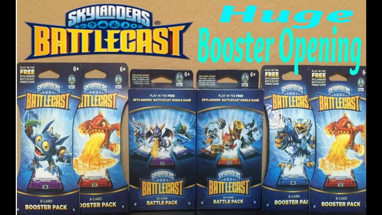 Skylanders Battlecast Mobile Game x 22 per pack x 32 packs per Box B pack