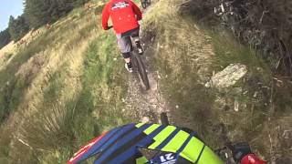 Redbull Foxhunt 2015 GoPro Headcam with Gee Atherton Rostrevor
