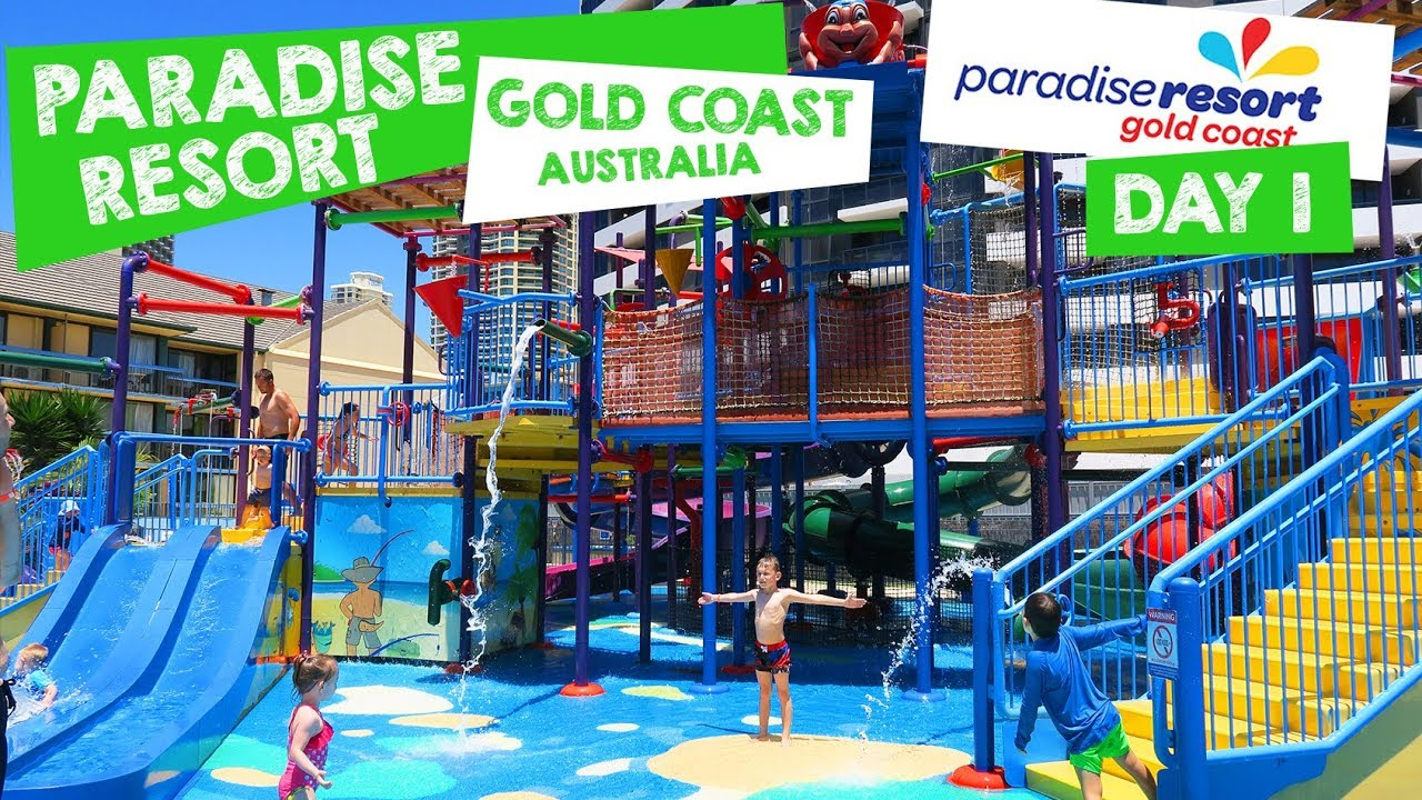 Paradise Resort Gold Coast King Bunkhouse Room - This Mum At Home Travel  Vlog